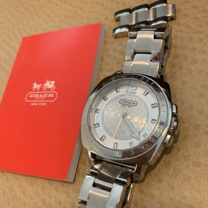 Authentic Stainless Coach Watch